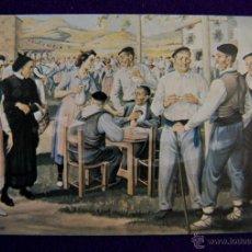 Postales: POSTAL DE JOSE ARRUE. Nº2 ROMERIA- ERROMERIA. EDIT POSTALARTE- BILBAO. AÑO 1982. Lote 45440406