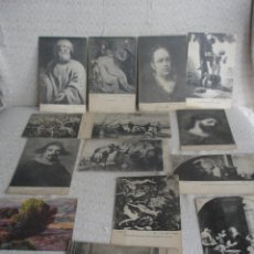 Postales: LOTE POSTALES ARTE MUSEO DEL PRADO . Lote 45629452