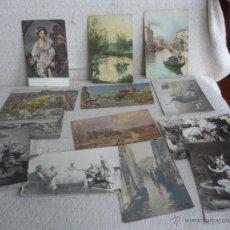 Postales: LOTE DE 13 POSTALES DE ARTE . Lote 45629669