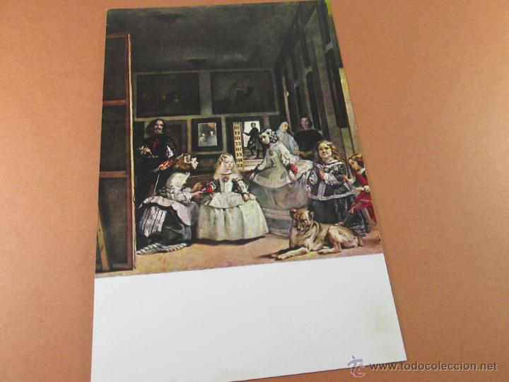 Postales: Aª POSTAL-LAS MENINAS-MUSEO DEL PRADO-1959-SIN CIRCULAR-ED.OFFO-SIN CIRCULAR-VER FOTOS. - Foto 4 - 45757034