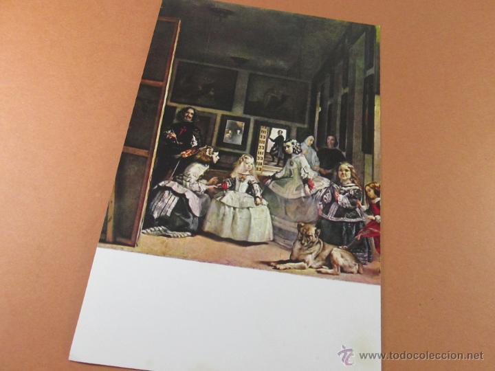 Postales: Aª POSTAL-LAS MENINAS-MUSEO DEL PRADO-1959-SIN CIRCULAR-ED.OFFO-SIN CIRCULAR-VER FOTOS. - Foto 5 - 45757034