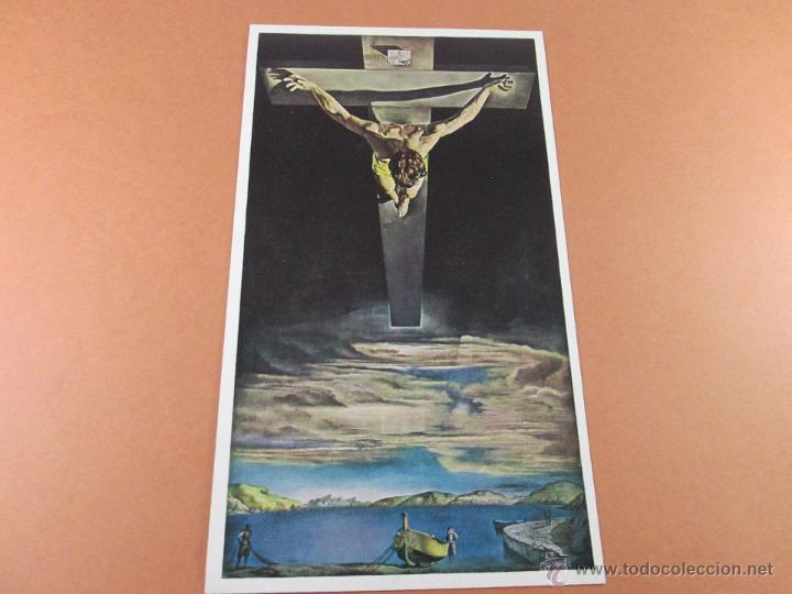 Aª POSTAL-SALVADOR DALÍ-CRISTO-SCOTLAND-VER FOTOS. (Postales - Postales Temáticas - Arte)