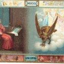 Postales: PS4956 DIVINA COMEDIA 'VISIÓN DE BEATRIZ'. E. SBORGI. FECHADA EN 1921. Lote 45858933