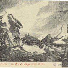 Postales: PS5078 V. PALMAROLI 'EL 3 DE MAYO (1808-1908)'. LACOSTE. SIN CIRCULAR. Lote 45944561