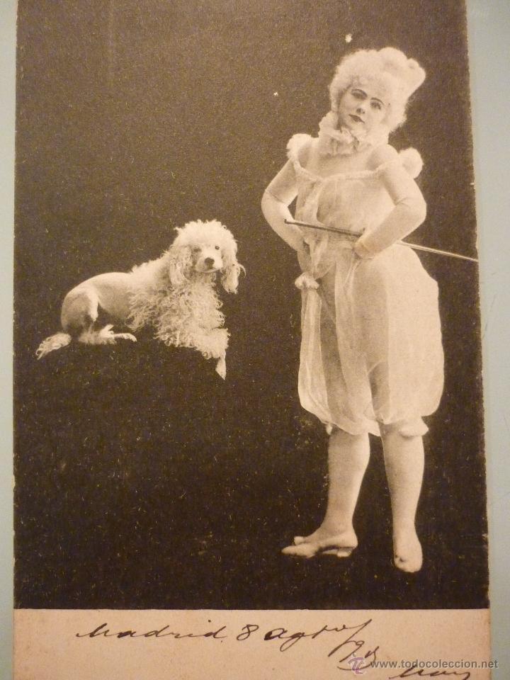 ARTISTA DE LA ÉPOCA. DESCONOZCO QUIEN ES. CIRCULADA 1903 (Postales - Postales Temáticas - Arte)