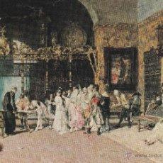 Postales: Nº 17145 POSTAL MUSEO DE ARTE MODERNO BARCELONA LA VICARIA FORTUNY . Lote 46219855