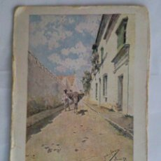 Postales: POSTAL, PAISAJES ANDALUCES - UNA CALLE DE BORNOS. Lote 46248989