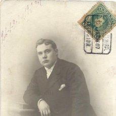 Postales: MADRID, 18 DE MARZO DE 1907. HOMBRE.. Lote 46284267