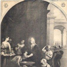 Postales: MURILLO. SANTA ISABEL, REINA DE HUNGRÍA. MUSEO DEL PRADO. 19 DE SEPTIEMBRE DE 1911.. Lote 46312489