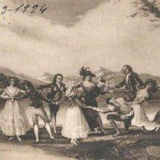 Postales: LA GALLINA CIEGA. GOYA. MUSEO DEL PRADO. 17 DE MARZO DE 1924.. Lote 46313226