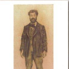 Postales: RAMON CASAS, RETRAT DEL PINTOR JOAQUIM MIR (1899) - COL·LECCIÓ JOIES DEL MUSEU - SIN CIRCULAR. Lote 46333860