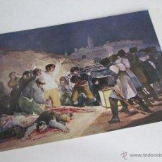 Postales: Aª POSTAL-GOYA-MUSEO DEL PRADO-LOS FUSILAMIENTOS DEL 2 DE MAYO-1959-NUEVA-SIN CIRCULAR-VER FOTOS.. Lote 46437017