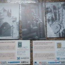 Postales: COLECCION COMPLETA DE POSTALES EL GAUDI MAS PURO (EL MUNDO 2002). Lote 46759678