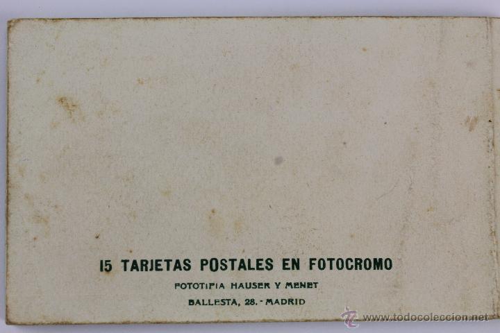 Postales: BP-6. LIBRITO 15 POSTALES MUSEO DEL PRADO. VELAZQUEZ. AÑOS 40. EN COLOR. - Foto 2 - 47198736