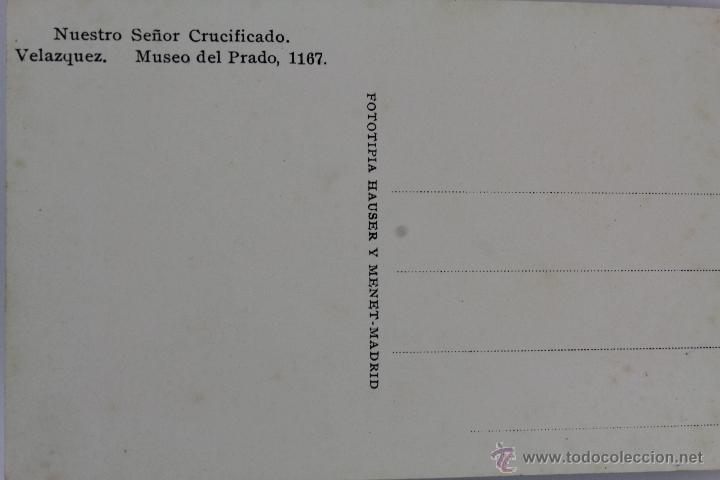 Postales: BP-6. LIBRITO 15 POSTALES MUSEO DEL PRADO. VELAZQUEZ. AÑOS 40. EN COLOR. - Foto 4 - 47198736