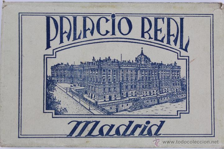 BP-10. LIBRITO DESPLEGABLE 24 POSTALES PALACIO REAL DE MADRID. AÑOS 30. (Postales - Postales Temáticas - Arte)