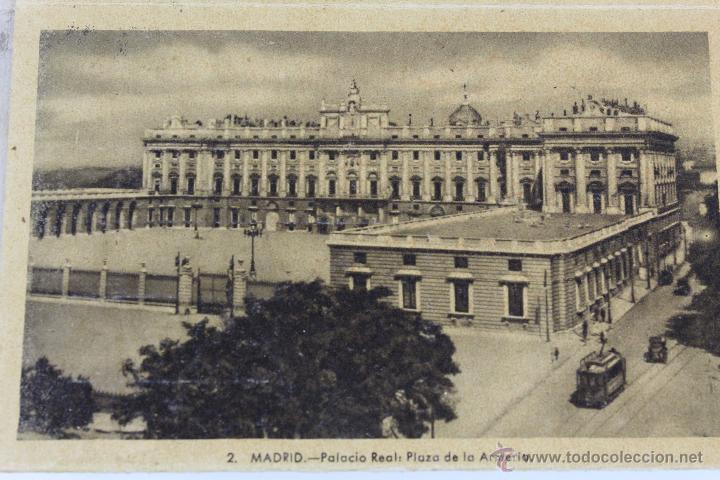 Postales: BP-10. LIBRITO DESPLEGABLE 24 POSTALES PALACIO REAL DE MADRID. AÑOS 30. - Foto 4 - 47200025