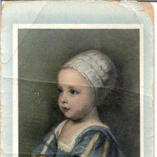 Postales: VAN DYCK. FIGLIO DI CARLO I. GALLERIA S. LUCA. CIRCULADA. 20 DE MAYO DE 1918.. Lote 47285719