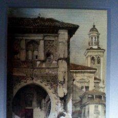 Postales: POSTAL GRANADA CORRAL DEL CARBON REPRODUCCION GRABADO SIGLO XIX. Lote 36396216
