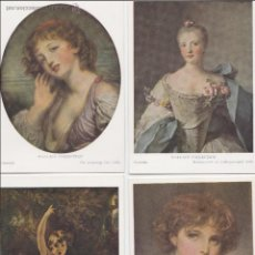 Postales: P- 587. LOTE 5 POSTALES WALLACE COLLECTION, LONDRES. AÑOS 50.. Lote 47829653