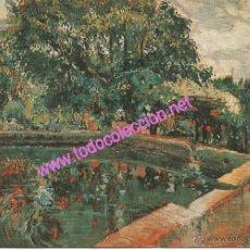 Postales: JOAQUIM MIR TRINXET (1873-1940) - ESTANQUE (POSTAL DE 1972). Lote 17986209