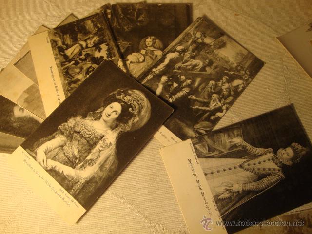 Postales: ANTIGUO LOTE COLECCION DE 11 POSTALES ARTE CUADROS MUSEO DEL PARDO EDI. LACOSTE - Foto 2 - 48695348