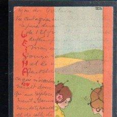 Postales: TARJETA POSTAL DE RAPHAEL KIRCHNER. GEISHA. Lote 48710688