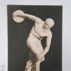 Postales: ANTIGUA POSTAL DE ITALIA. ROMA. MUSEO VATICANO. DISCOBULO DI MIRONE. TDKP2. Lote 53557249