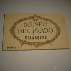 Postales: MUSEO DEL PRADO. VELAZQUEZ . 20 TARJETAS POSTALES SERIE I . Lote 49455966