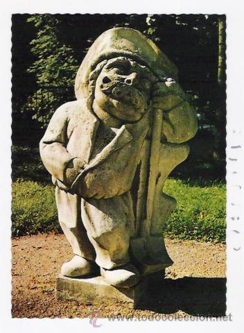POSTAL ENANO DE SALZBURGO-NO CIRCULADA (Postales - Postales Temáticas - Arte)