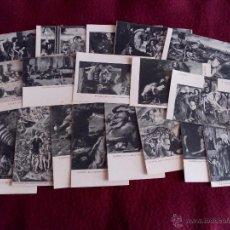Postales: EL ESCORIAL .- 19 POSTALES DE LAS PINTURAS DE LAS SALAS CAPITULARES .- EDICION THOMAS . Lote 50679967