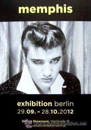 MEMPHIS - EXPOSICIÓN BERLÍN 2012 - ELVIS (Postales - Postales Temáticas - Arte)