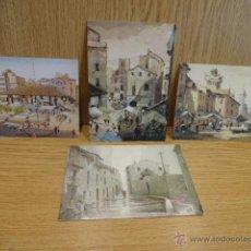 Postales: J. ICART SAMPERE. GRANOLLERS Y VIC (BARCELONA) 4 POSTALES SIN CIRCULAR.. Lote 50865615
