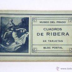 Postales: P- 2534. CUADERNILLO DE POSTALES CUADROS DE RIBERA.. Lote 51470762
