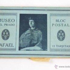 Postales: P- 2535. BLOC POSTAL RAFAEL. MUSEO DEL PRADO.. Lote 51470885