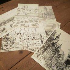 Postales: LOTE DE 6 POSTALES DE BARCELONA. Lote 51651258