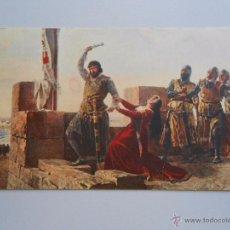 Postales: POSTAL DE S. MARTINEZ CUBELLS. GUZMAN EL BUENO. SERIE PINTURA DE HISTORIA Nº 7. TDKP5. Lote 51960692