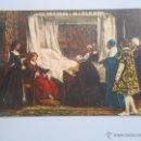 Postales: POSTAL E. ROSALES. TESTAMENTO DE ISABEL LA CATOLICA. SERIE PINTURA DE HISTORIA Nº 1. TDKP5. Lote 51960735