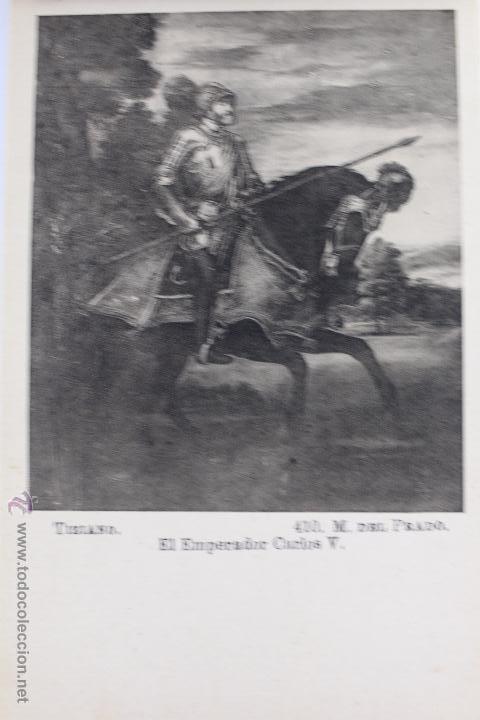 Postales: BP-44. MUSEO DEL PRADO. CUADROS DE TIZIANO. BLOC POSTAL. 24 TARJETAS. - Foto 7 - 52431177