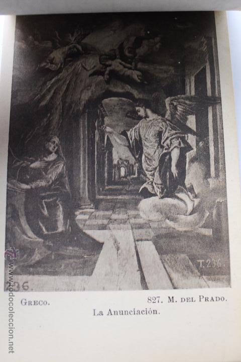 Postales: BP-54. CUADROS DEL GRECO. MUSEO DEL PRADO. BLOC POSTAL DE 24 TARJETAS.COMPLETO. - Foto 8 - 52436651