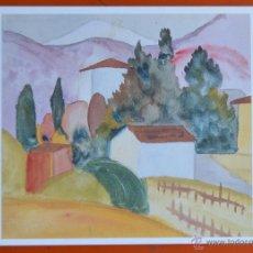 Postales: HEINER HESSE - ACUARELA - TARJETA POSTAL - SUIZA. Lote 52437437