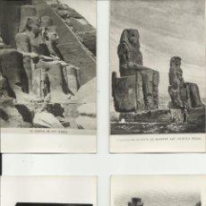 Postales: PRECIOSA COLECCION DE 14 POSTALES ANTIGUAS DE ARTE EGIPCIO. Lote 52540135