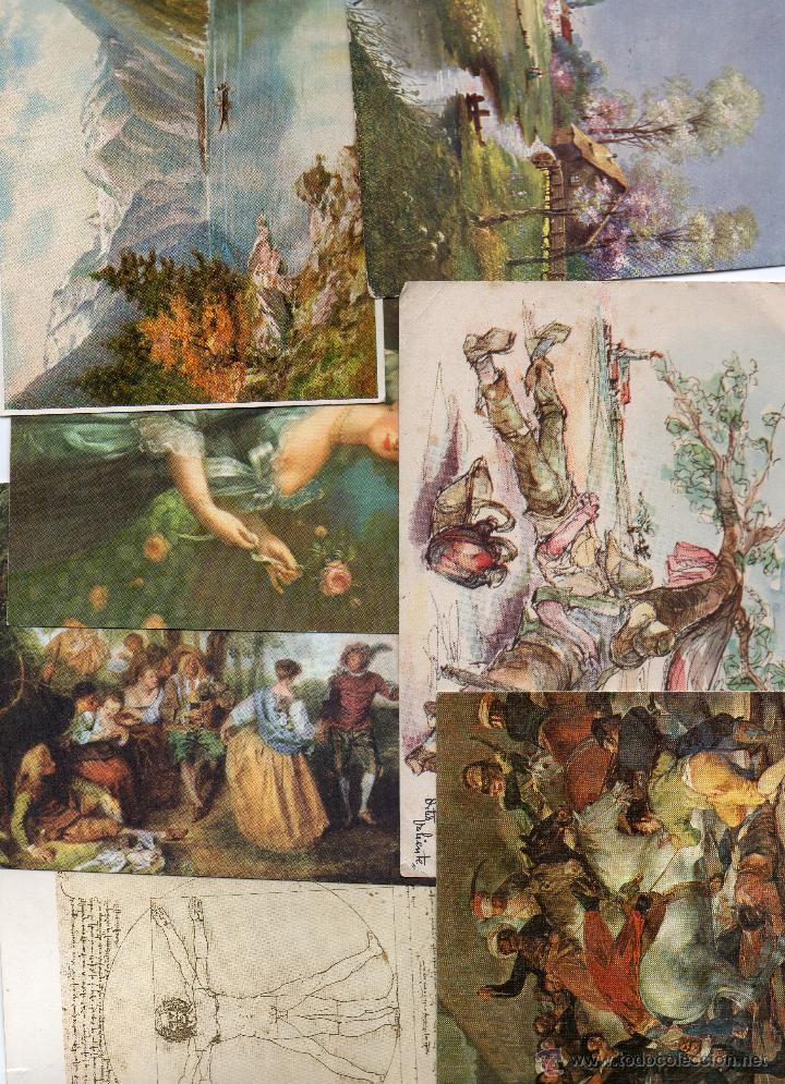 LOTE ARTE 26 POSTALES (Postales - Postales Temáticas - Arte)
