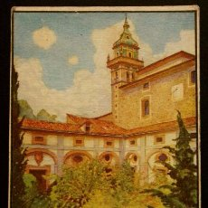 Postales: VALDEMOSA LA CARTUJA - MALLORCA - PINTURA ACUARELA ORIGINAL DE ERWIN HUBERT. Lote 52749796