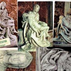 Postales: LA PIEDAD. MIGUEL ANGEL. 5 POSTALES.. Lote 52903072