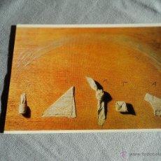 Postales: POSTAL ANTONI TAPIES TOVALLONS PLEGATS 15 X 10 CM. Lote 52919843