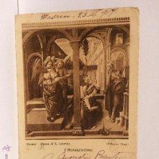 Postales: POSTAL FIRENZE CHIESA DI S. LORENZO CIRCULADA 1917.. Lote 53346007
