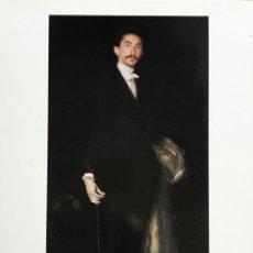 Postales: CONDE ROBERT DE MONTESQUIOU-FEZENSAC.J.MCNEILL WHISTLER. THE FRICK COLLECTION NY. Lote 53398150