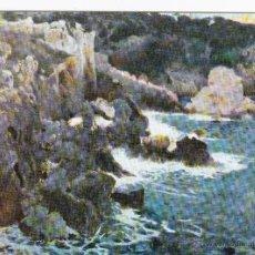 Postales: COSTA BRAVA - J. MIR - BARCELONA - MUSEO ARTE MODERNO - ED. EUROCROMO - SERIE 1512 - ESCRITA. Lote 53562272