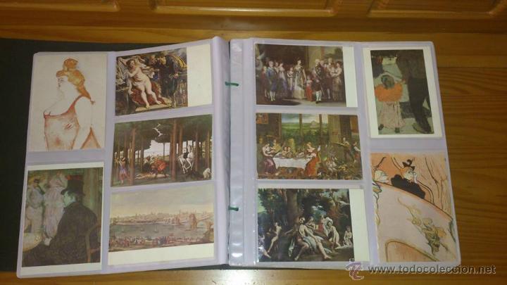 Postales: PINTURA - COLECCIÓN DE POSTALES DE PINTURA UNIVERSAL - ÁLBUM DE 170 POSTALES NUEVAS SC - Foto 3 - 53859419